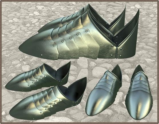 Рыцарские сандали