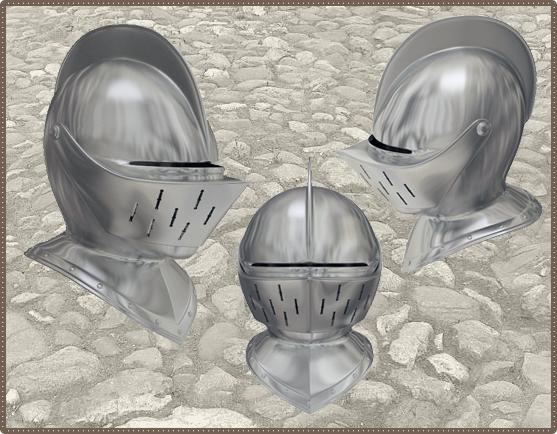Рыцарский турнирный шлем