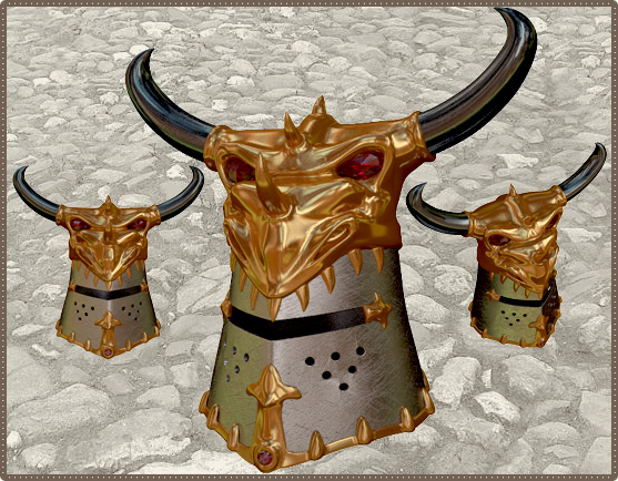 Элитный Шлем защиты от Огня