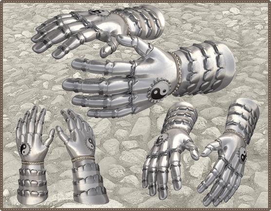 Перчатки из чешуи дракона